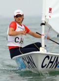 女子单人艇决赛赛况