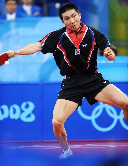 图文-男团铜牌附加赛韩国晋级 柳承敏经验丰富