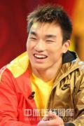 图文-廖辉做客冠军面对面 说到夺金仍很激动