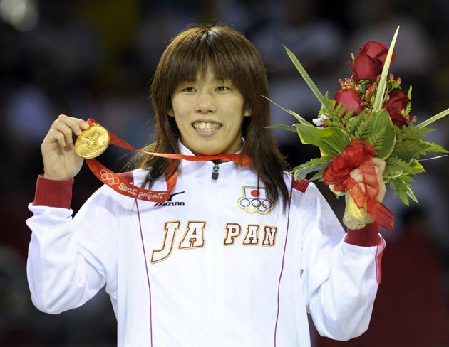 图文-[奥运]女子自由式55公斤 吉田沙保里夺金