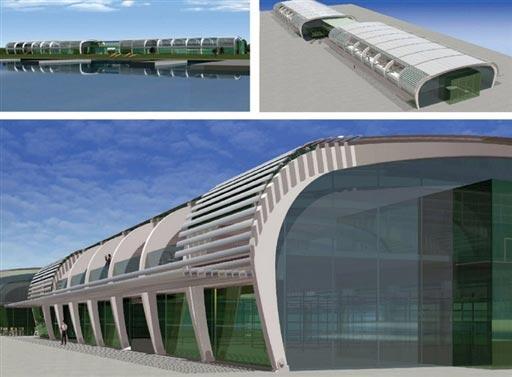 北京2008奥运场馆巡礼 奥林匹克水上公园