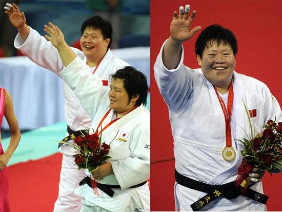 北京奥运赛场的笑容最美