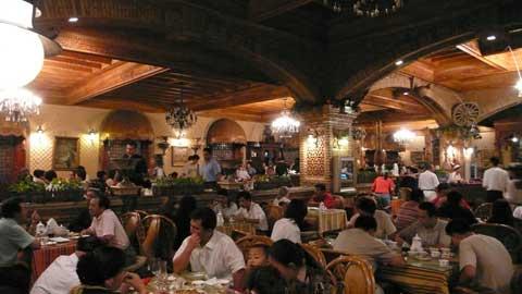 图文-祝福北京塔塔尔族使者评选 大巴扎附近餐厅