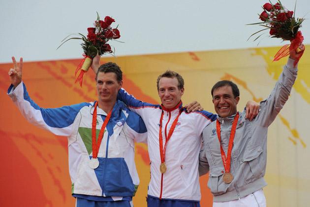 图集-奥运19日金牌汇总 男子激光级古迪森夺得金牌