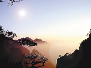 北海:黄山腹地奇景荟萃 狮子峰最适合观赏云海日出