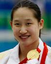 中国女子游水