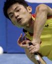 中国男人羽毛球
