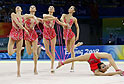 China wins silver at Beijing Olympic rhythmic gymnastics