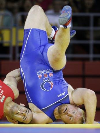 图文-奥运会自由式摔跤回顾 怎么会是这样