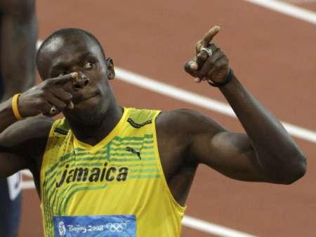 图文-田径男子200米半决赛 博尔特杀入决赛