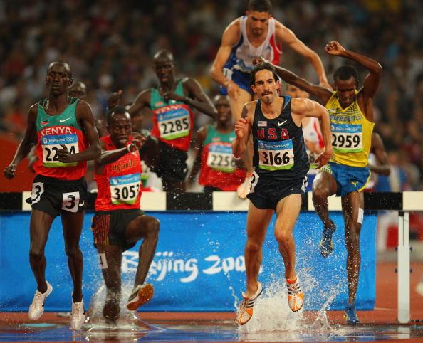 图文-男子3000米障碍赛决赛 你争我赶全力以赴