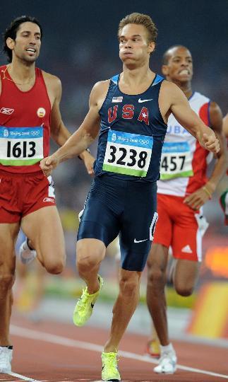 图文-奥运田径男子800米20日赛况 西蒙兹小组第一