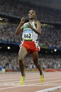 男子5000米贝克勒夺冠