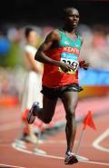 图文-男子马拉松肯尼亚卡马乌夺金 卡马乌弯道技术