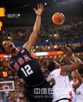 图文-[奥运]安哥拉76-97美国男篮 盖你一个大帽