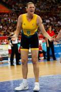 图文-[奥运女篮决赛]美国VS澳大利亚 不停抱怨