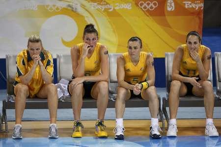 图文-[女篮决赛]美国92-65澳大利亚 品尝失败