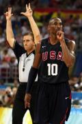 图文-美国男篮118-107西班牙 科比无愧第一人称号