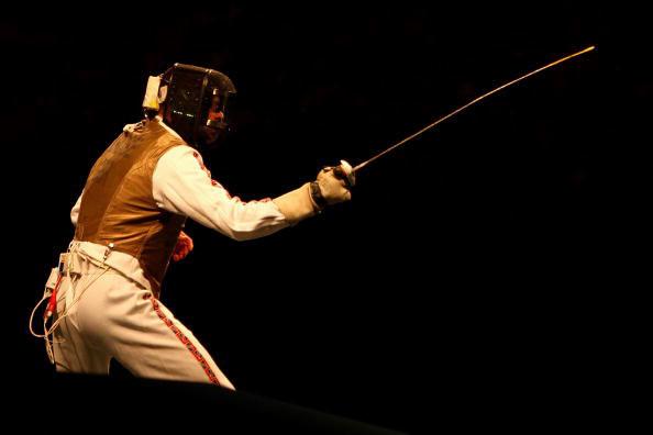 图文-击剑男子花剑个人赛 英国剑客理-克鲁泽