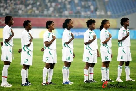 图文-[奥运会]朝鲜女足VS尼日利亚 心中只有胜利