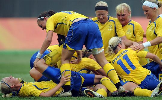 图文-[女足]瑞典1-0胜阿根廷 胜利属于我们