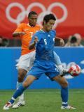 图文-[男足]荷兰vs日本 难以防备的一脚