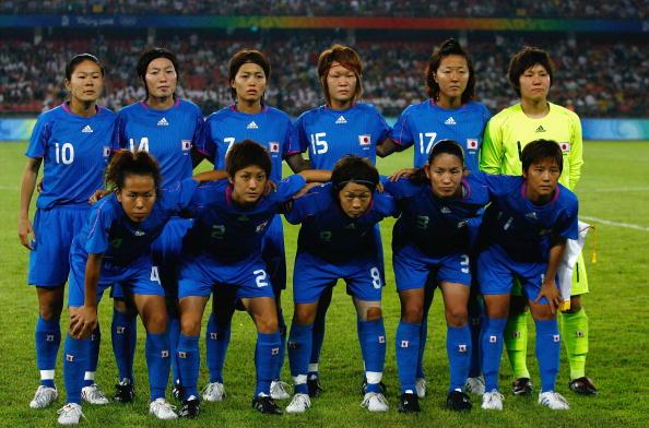 图文-[奥运女足半决赛]日本2-4美国 日本队首发