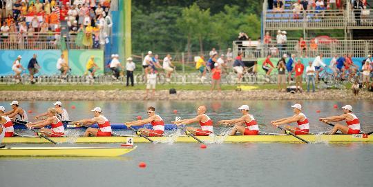 男子八人单桨有舵