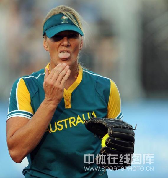 图文-[奥运垒球]澳大利亚4-0加拿大 不可思议啊