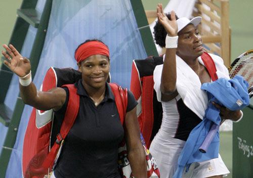 网球女双半决赛赛况