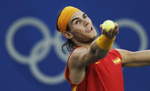 图文-[奥运]网球男子单打决赛 瞄准奥运冠军
