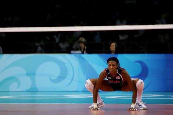 图文-女排半决赛美国3-0古巴 格拉斯正虎视眈眈