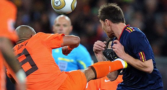 西班牙战胜荷兰获得南非世界杯冠军