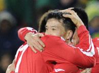 巴西2-1朝鲜 志尹南