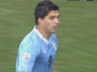 乌拉圭2-1韩国 苏亚雷斯