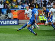 意大利1-1新西兰 亚昆塔