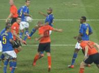 巴西1-2荷兰 斯内德