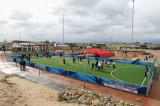 新开辟的足球场