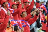朝鲜球迷毫不言弃