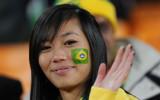 美女支持巴西