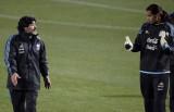 罗梅罗与马拉多纳对话