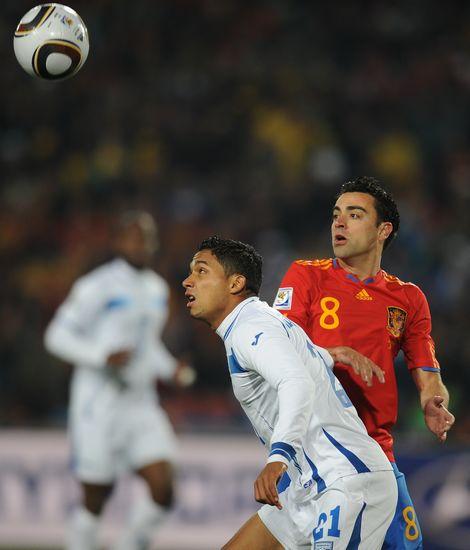图文-[小组赛]西班牙VS洪都拉斯伊扎古雷目不转睛
