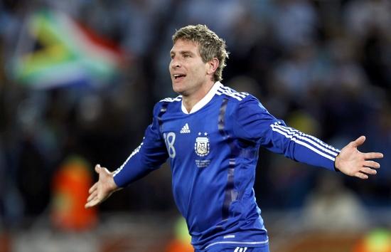 图文-[小组赛]希腊0-2阿根廷打入一进球很兴奋