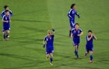 日本队庆祝进球