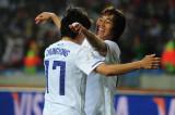 队友祝贺李青龙