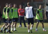 卡佩罗观看队员训练