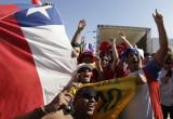 智利球迷造势