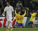 巴西人笑得灿烂