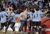 乌拉圭人欢呼