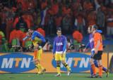 荷兰队兴奋晋级